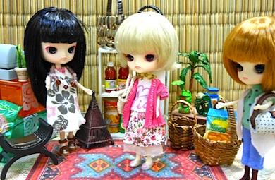 リトルダル+PukiとJouetとRotちゃん