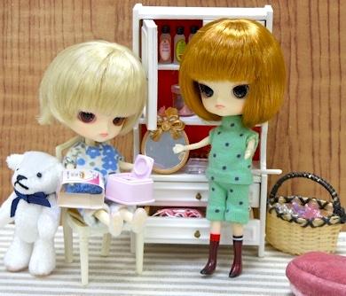 リトルダル+Rotちゃんとミニチュア家具