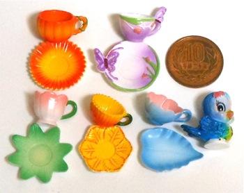 リーメントおとぎの国の食器たち-5青い鳥と秘密のお茶会