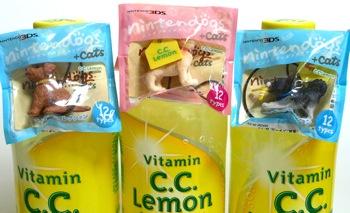 C.C.Lemonおまけnintendogsストラップ