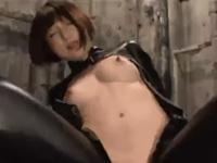 佐倉絆 キャットスーツ パイパン 痴女 フェラ クンニ 顔面騎乗 敏感