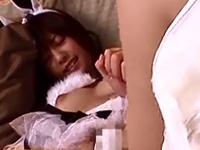 瑠川リナ 電マ 悶絶 バニー 美乳 美少女 淫乱