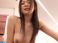 前田かおり スレンダー 美女 玉舐め 美乳