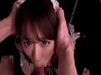 白石茉莉奈 コスプレ SM M女 メイド 女王様 爆乳