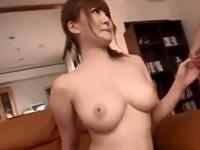 仁科百華 パイズリ ギャル 手マン 爆乳 美少女 クンニ 絶頂 悶絶 恥じらい