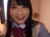 宮崎あや 敏感 美少女 フェラ クンニ 制服 清楚 キュート パイマン 淫乱 巨乳