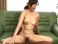 澤村レイコ 淫乱 美乳 人妻 熟女 敏感 デカマラ 絶頂 クンニ フェラ