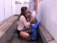 横山美雪 痴女 亀頭責め スレンダー フェラ 焦らし スレンダー 人妻 熟女
