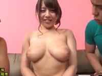 三島奈津子 パイズリ フェラ ムッチリ 爆乳 人妻 熟女 悶絶