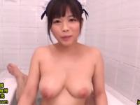 羽咲みはる フェラ メイド 爆乳 美少女 キュート ムッチリ アイドル パイズリ