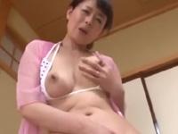 三浦恵理子 オナニー 悶絶 恥じらい 熟女 人妻 巨乳 絶頂 淫乱