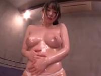 夢乃あいか 絶頂 敏感 美少女 巨乳 爆乳 ローション 騎乗位 キュート 淫乱