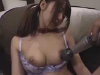 初美沙希 電マ バイブ 美少女 敏感 清楚 キュート 無理に M女 巨乳