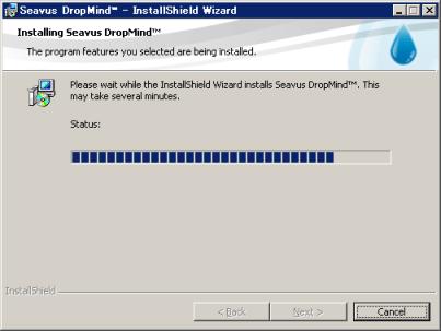 「DropMind」インストール開始