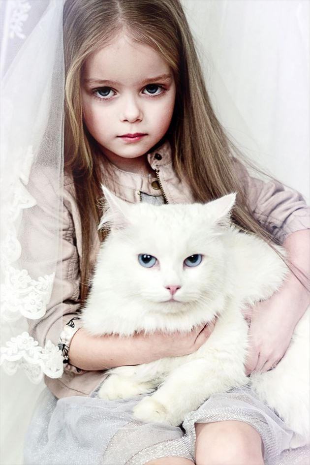 猫と女の子その1