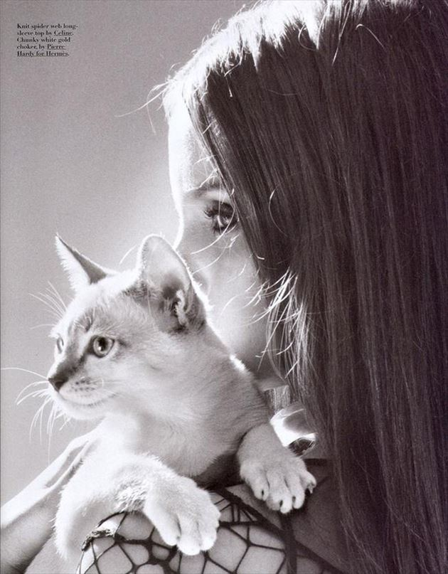 猫と女の子その2