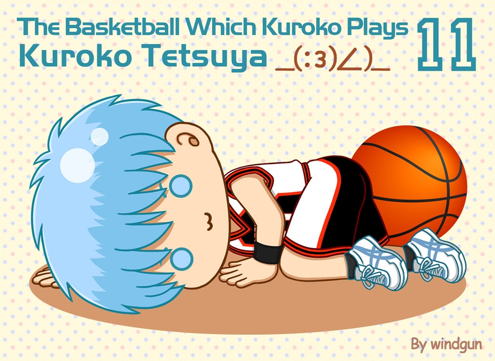 黒子のバスケ 143 黒子テツヤ (The Basketball which Kuroko Plays / Kuroko Tetsuya)