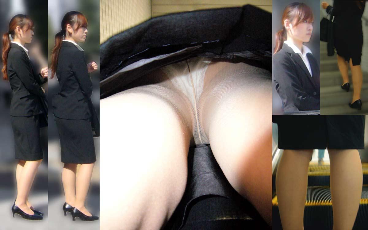 スカートの中を逆さ撮りしたったwwwムッチリでエロすぎ画像(30枚)7