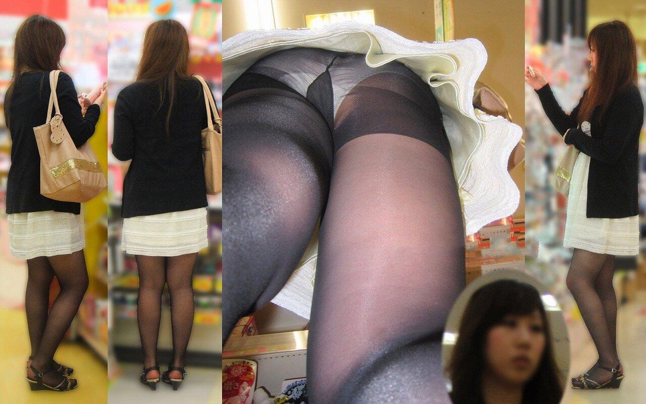 スカートの中を逆さ撮りしたったwwwムッチリでエロすぎ画像(30枚)14