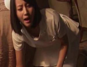 堀北真希 ナース服でBカップおっぱい胸チラ事故