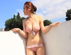 筧 美和子 Gravure idol Sexy bikini girl under the sun