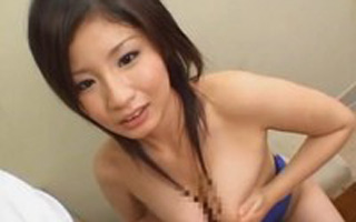 【xvideo】Gカップ爆乳娘の競泳水着コスプレ!! 真央♪