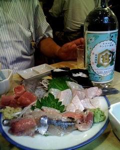 刺身 さんま+カワハギ+まぐろ