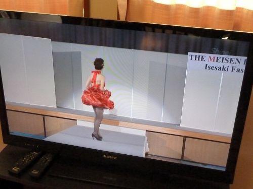 いせさき明治館で見たファッションショービデオ