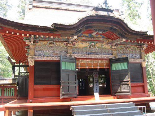 2008年の貫前神社拝殿