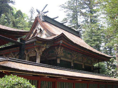 2008年の貫前神社・外から見た本殿