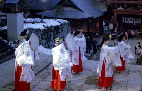 1969年の貫前神社祭事