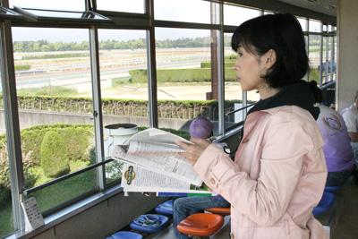【京都記念】細江「ハープの毛艶の良さが目立つ。」