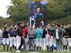 岩田がしれっと後藤の引退メモリアルに参加してる件