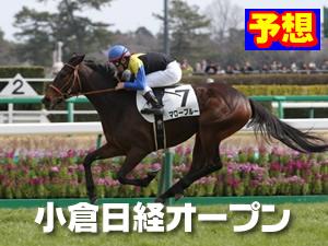 2015  小倉日経オープン 予想