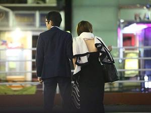 武豊が美馬怜子と手つなぎラブラブデート