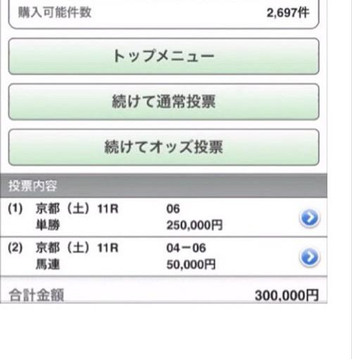 【京都牝馬ステークス】ウキヨノカゼの単勝に人生最大の勝負をしたが買い間違えた。