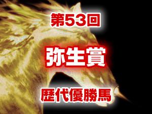 2016年 弥生賞 歴代の結果と配当