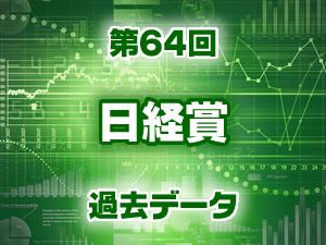 2016年 日経賞 過去のデータ