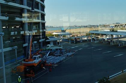 羽田空港 駐車場から国際線ターミナル・ビルへ