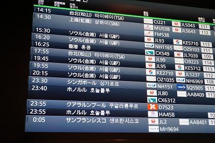 羽田空港 国際線ターミナル 時刻表