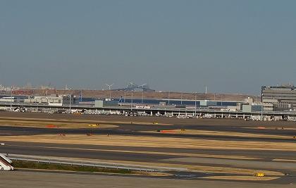 羽田空港 国際線ターミナル 展望デッキ 東京ゲートブリッジ
