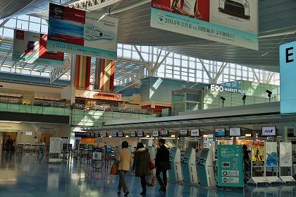 羽田空港 国際線ターミナル 空いている