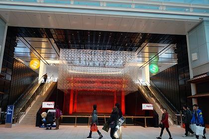 羽田空港 国際線ターミナル 江戸小路 舞台