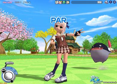 簡単操作のゴルフゲーム『スカッとゴルフパンヤ』