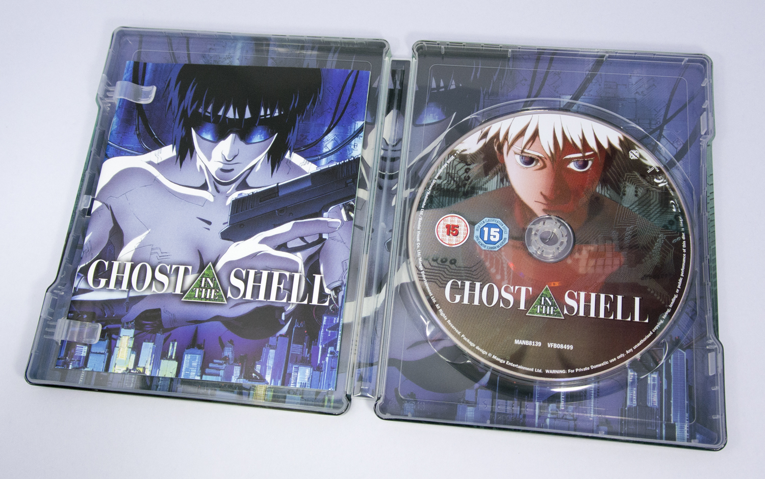 GHOST IN THE SHELL スチールブック