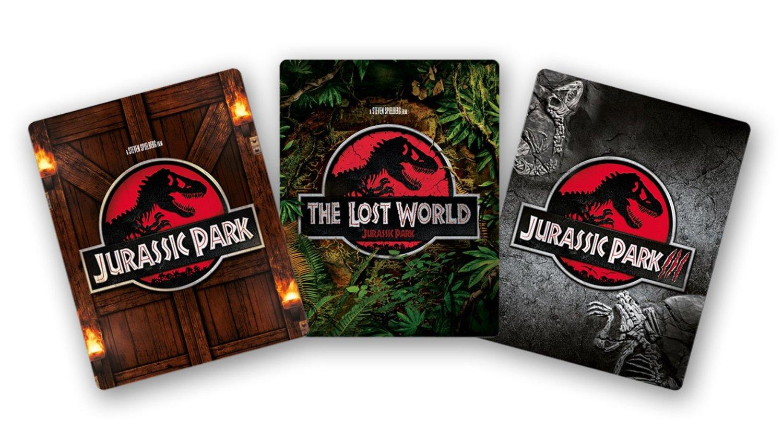 ジュラシック・パーク トリロジー Blu-ray SET スチールブック
