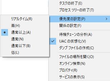 CPUのリソース