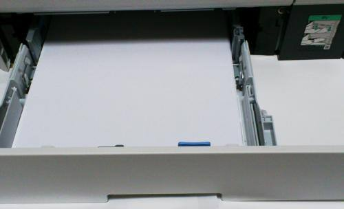 印刷用紙入れ