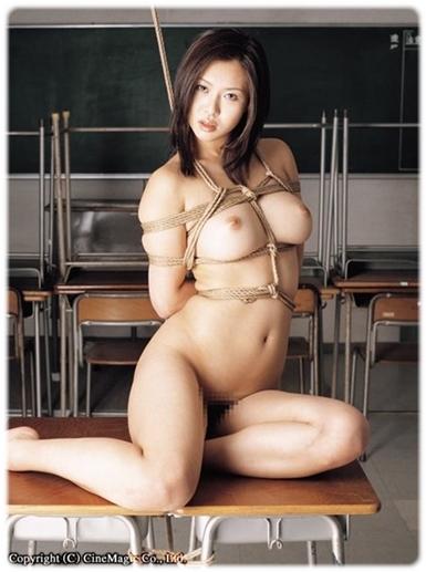 拘束緊縛SM無料エロ画像0085