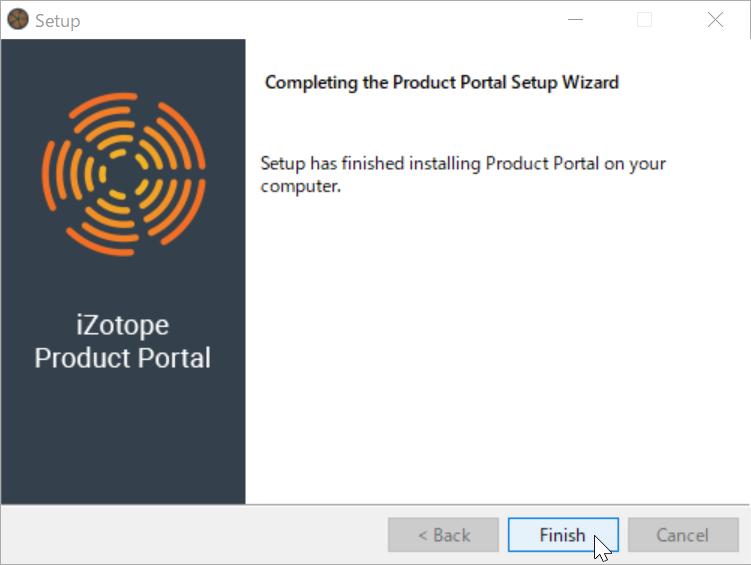 Setup Product Portal